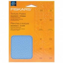 FISKARS Plaque à texturer...