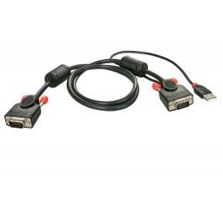 LINDY Câble KVM, gamme...