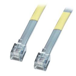 LINDY Câble RJ12 6/6 10m