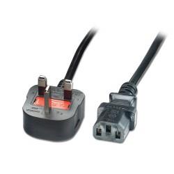 LINDY Câble secteur UK, 3...