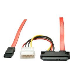 LINDY Câble SATA interne +...