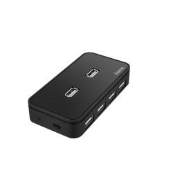 HAMA Hub USB, 7 ports, USB...