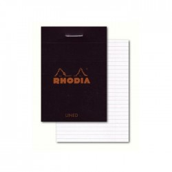 RHODIA Bloc BLACK N°10...
